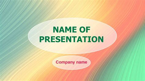 Download Free Rainbow Visual Powerpoint Template For Your Presentation Visual Ppt Templates