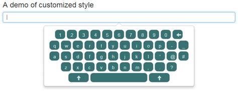bootstrap keyboard layout a touch keyboard using bootstrap with jquery 5 demos