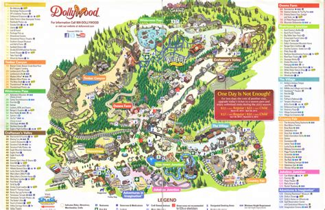 dollywood map dollywood 2012 park map