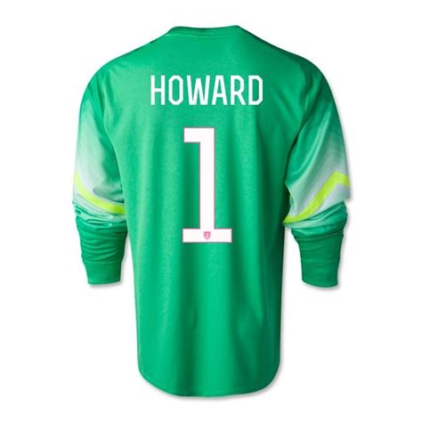 swaggy pee haircut tim howard goalie jersey autographed tim howard jersey