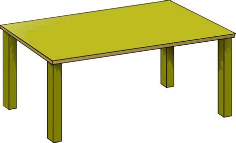 Meja Belajar Gambar Kartun gold table clip at clker vector clip