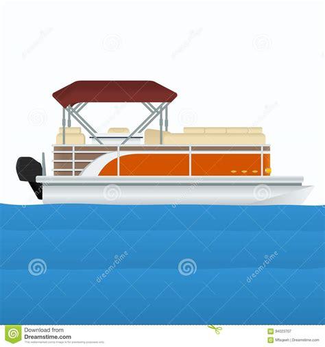 pontoon boat cartoon images pontoon cartoons illustrations vector stock images