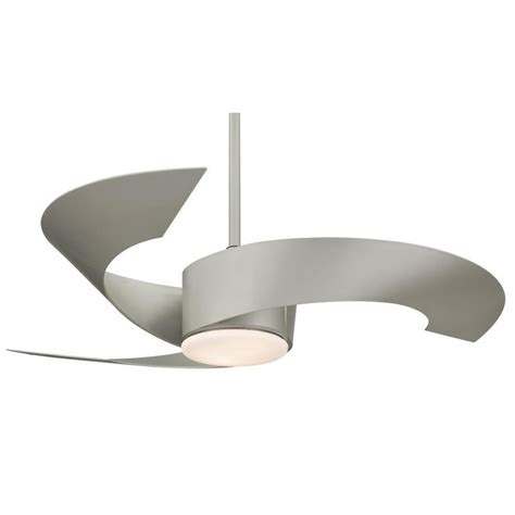 grey ceiling fan with light shop fanimation torto 52 in metro gray indoor outdoor