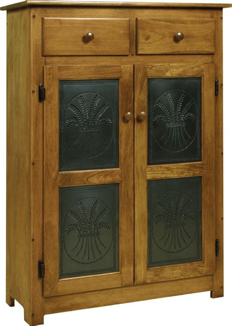 pine wood pie safe with tin doors from dutchcrafters amish
