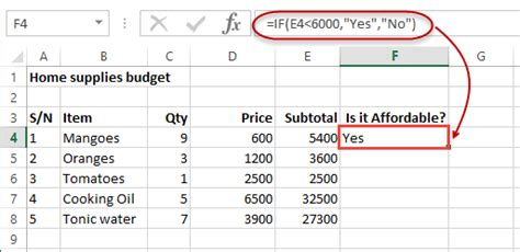 tutorial excel logical functions if and or nested if not logical functions in excel
