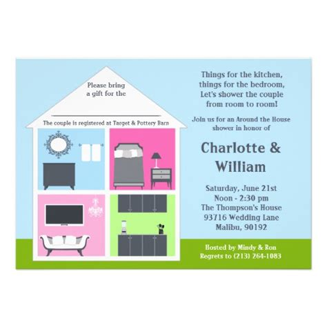 Around The House Bridal Shower by Around The House Shower Bridal Shower 5 Quot X 7 Quot Invitation Card Zazzle