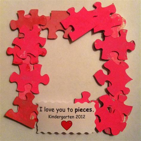 i you to pieces s day card template i you to pieces frame a great way to