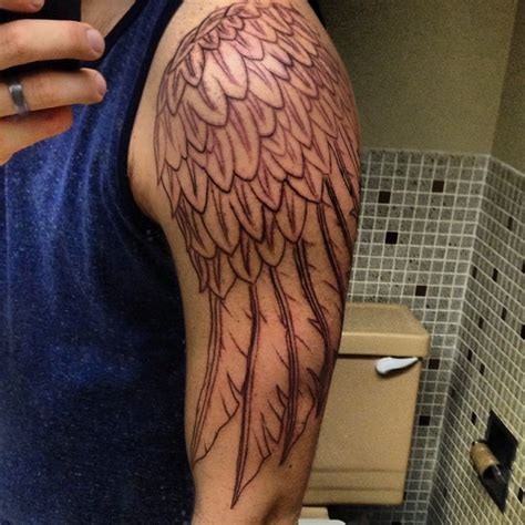 wing arm tattoo wings images designs