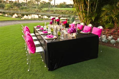 Pink And Black Wedding Ideas by Modern Pink And Black Wedding Ideas Every Last Detail