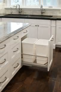 Trash Cans For Kitchen Cabinets 8 Ways To Hide Or Dress Up An Kitchen Trash Can