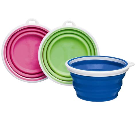 Divider Cup Silicone Cup 1 bamboo silicone travel bowl 1 cup assorted