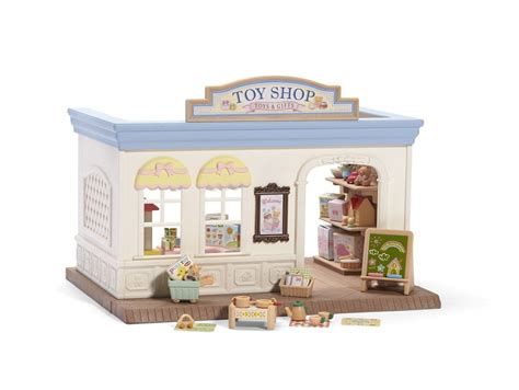 calico critters doll house toy shop doll house toy by calico critters cc1463 ebay