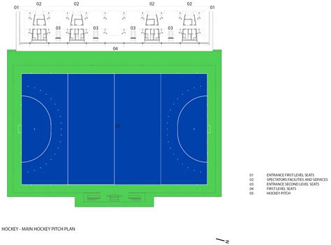 Layout Of Floor Plan gallery of olympic field hockey center vigliecca