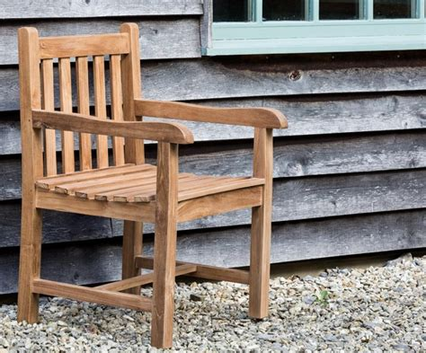 Teak Garden Chairs Teak Garden Chair Classic Strong Comfortable With