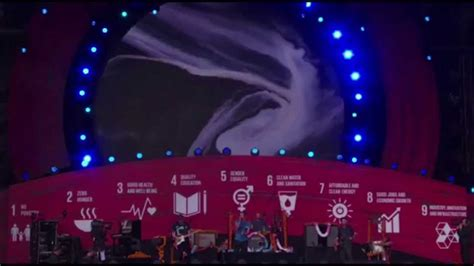 coldplay amazing day coldplay amazing day live at global citizen festival 26