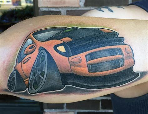 toyota tattoo toyota celica by mikey har tattoonow