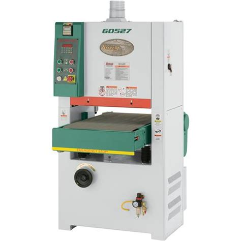 18 quot wide belt sander 5 hp single phase grizzly industrial