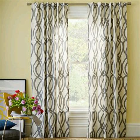 window curtain patterns pale yellow wall color new livingroom colors pinterest