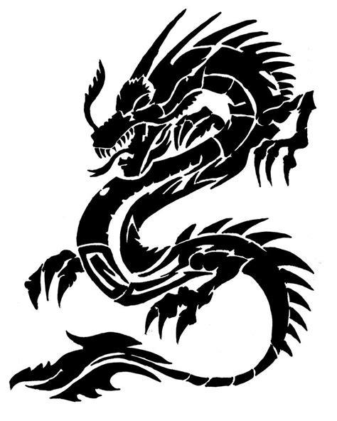 chinese tribal dragon tattoo designs by deadwoodman deviantart on