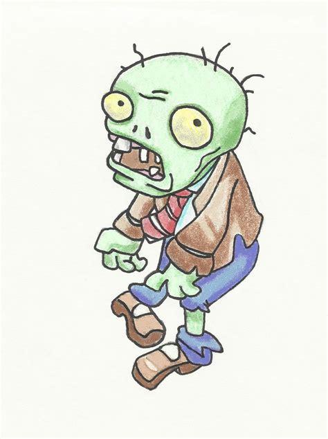 imagenes terrorificas de zombies plantas vs zombies c 243 mo dibujar imagui