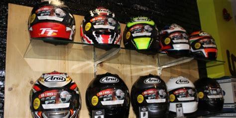 Helm Untuk Balapan helm arai diharap jadi sponsor balapan aldyth31