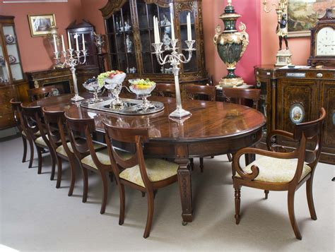 Edwardian Dining Table And Chairs Edwardian Dining Table And Chairs Edwardian Extending Dining Table And Set Of Eight Style