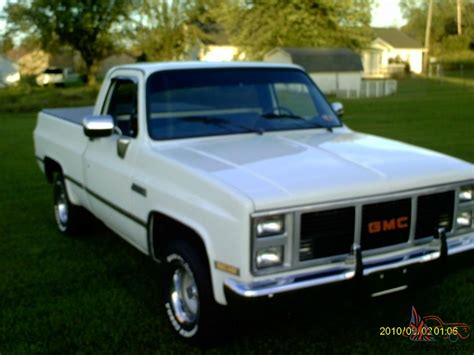 short bed 1985 gmc short bed pickup