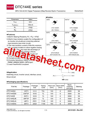 sheet transistor sebagai saklar rohm resistor datasheet 28 images dta124ekat146 datasheet pdf rohm 0603 chip resistor