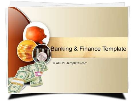 template powerpoint for banking powerpoint banking and finance template sets