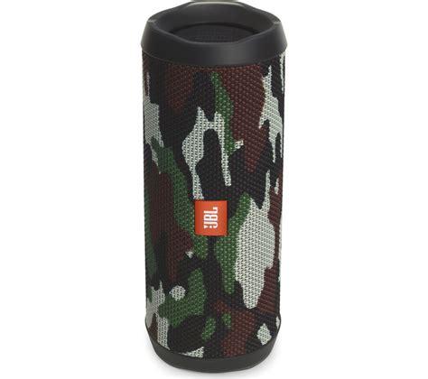 Speaker Jbl Flip 4 buy jbl flip 4 portable bluetooth wireless speaker camouflage free delivery currys