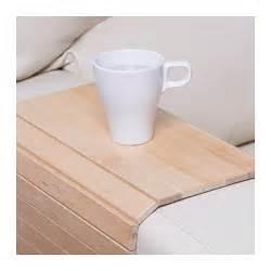 sofa tablett ikea r 214 deby armrest tray birch ikea
