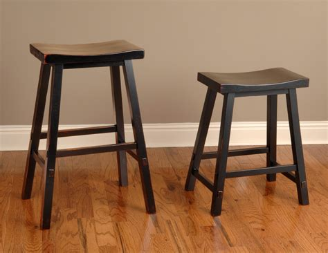 22 inch backless stool biscayne black 24 backless counter stool from largo