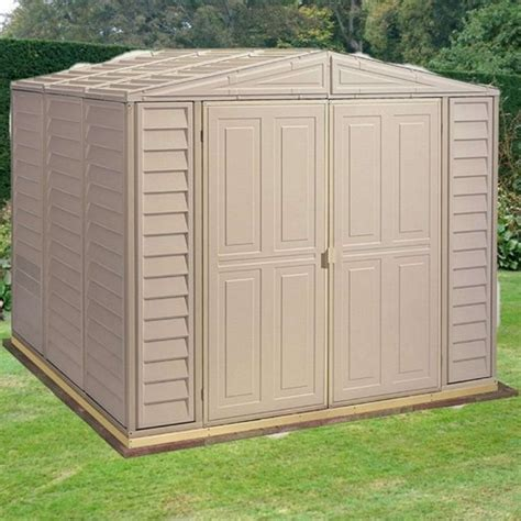 8x8 Sheds For Sale by Duramax Duramate Plastic Apex Shed 8x8 Garden