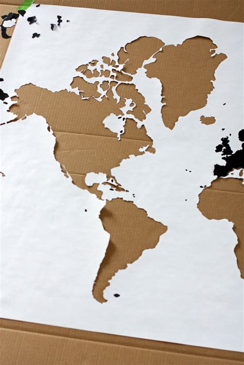 world map stencil a watercolor world map everyday reading