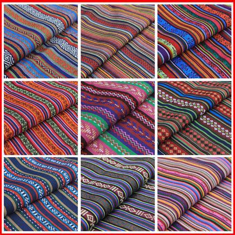cotton upholstery fabric uk stripe tribal ethnic cotton fabric for upholstery curtain