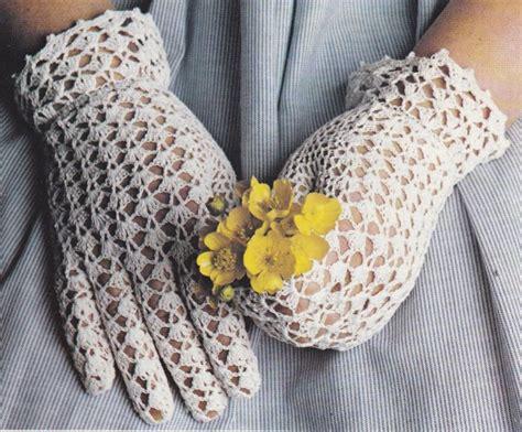 crochet gants blancs en dentelle tutoriel gratuit blog