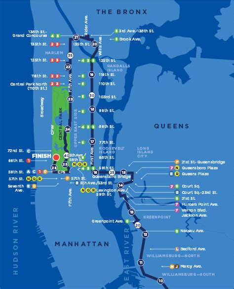 nyc marathon map nyc marathon 2015 time tv schedule map route and closures sbnation