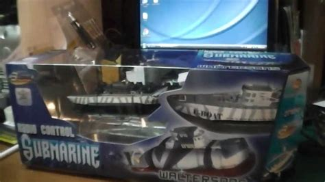 unboxing my micro submarine u boat rc 3 channels youtube - U Boat Watch Unboxing