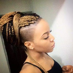 senegalese twists with shaved sides 30 protective high shine senegalese twist styles