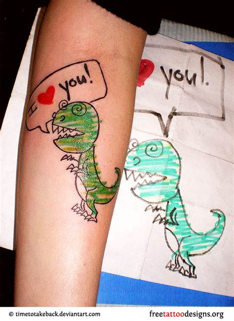 cute dinosaur tattoo designs tattoos and ideas 100 designs