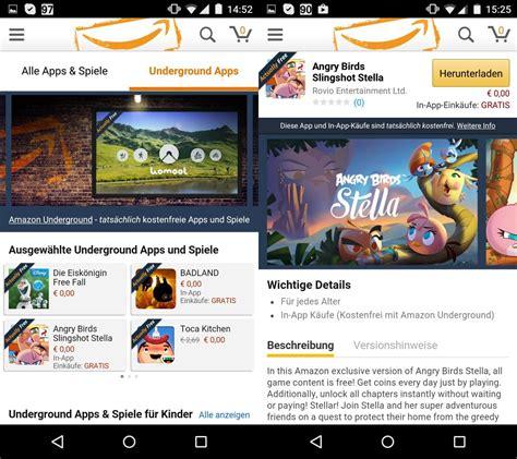 amazon underground amazon underground kostenlose android apps und in app