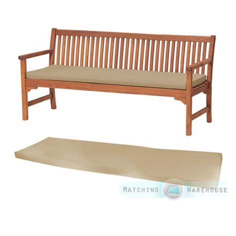 padding for bench seat outdoor waterproof 4 seater bench swing seat cushion