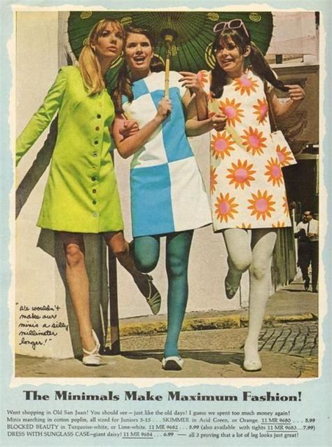 sixties fesyen 1960s a decade of colour byron s muse