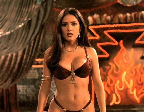 film hot instagram salma hayek in sexy underwear for film from dusk til dawn