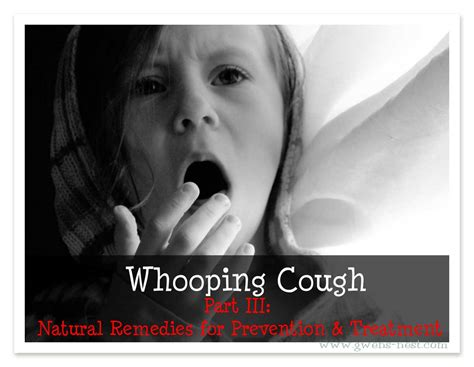whopping couch whooping cough part 3 natural remedies for prevention and