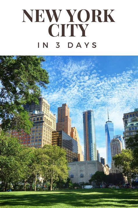 how to see most of new york city in three days travel