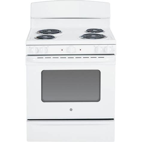 hotpoint 20 in 2 4 cu ft electric range in white