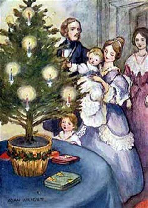 origin of the christmas tree bbc never enough history december 2011