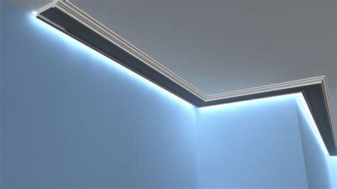 Lichtleisten Indirekte Beleuchtung by Lichtleiste Lo 14 Deckenprofil Led
