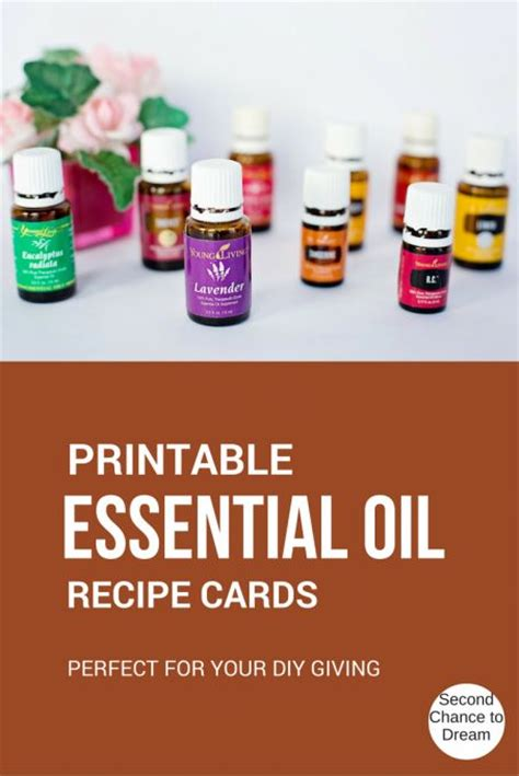 printable essential oil recipes 1000 images about second chance to dream on pinterest